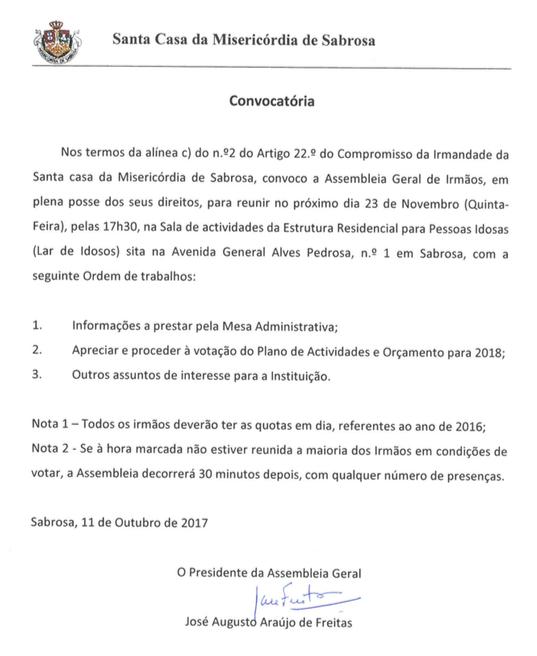 Convocatóriaout17